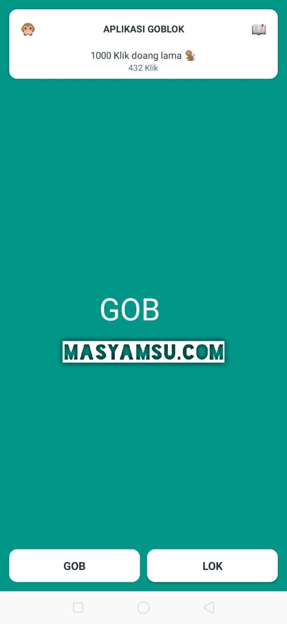 Aplikasi Goblok