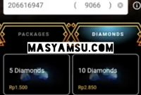 Aplikasi Top Up Diamond ML
