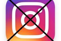 Cara Cara Deactive Akun Instagram