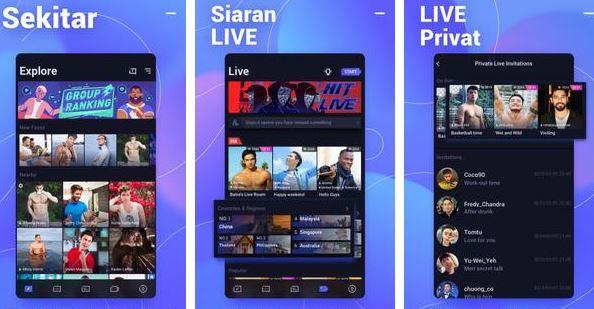 Download Aplikasi Blued