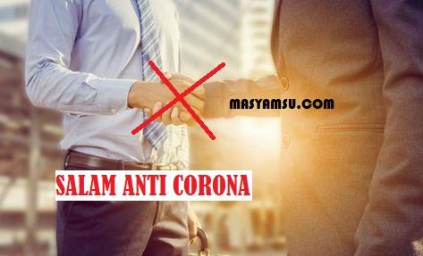 Cara Memberi Salam Saat Tatap Muka Corona