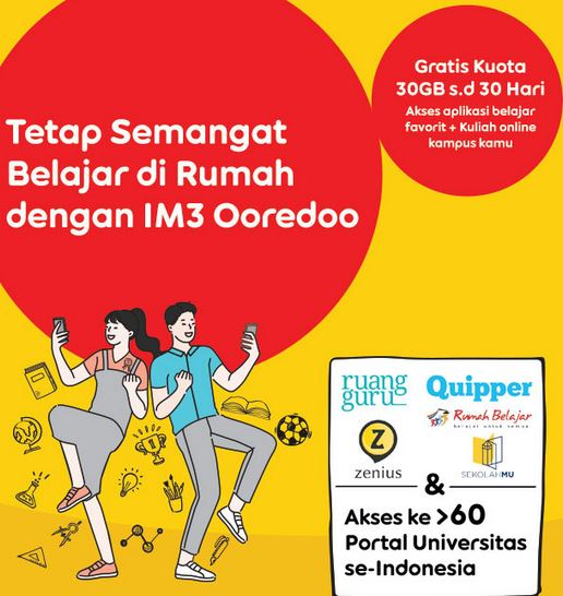 Cara Menggunakan Paket Edukasi Indosat