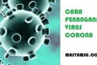 Cara Penanganan Saat Sakit Virus Corona