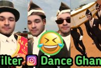filter instagram dance ghana / coffin dance