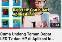 Umma, Aplikasi Berhadiah TV dan HP