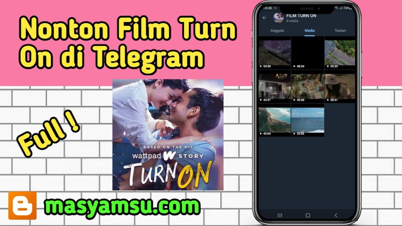 Cara Nonton Film Turn On di Telegram