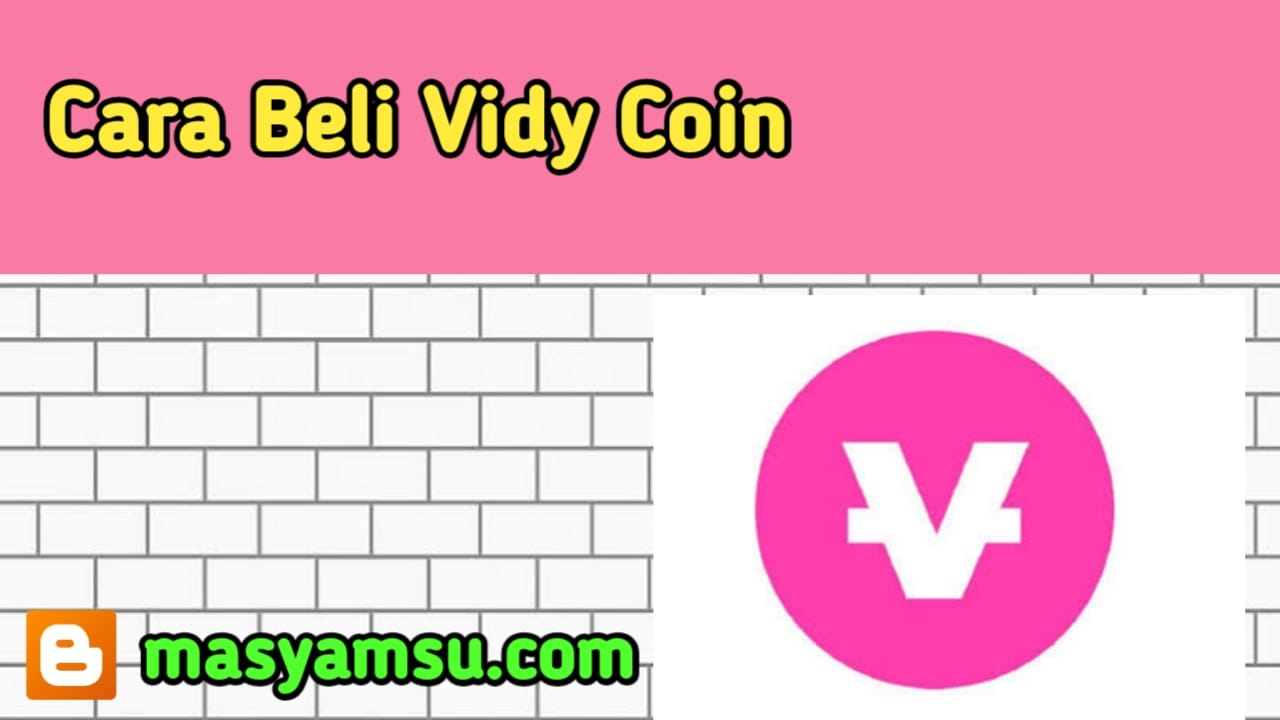 Cara Beli Vidy Coin di Indodax