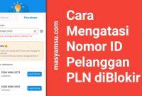Cara Mengatasi Nomor ID Pelanggan PLN diBlokir
