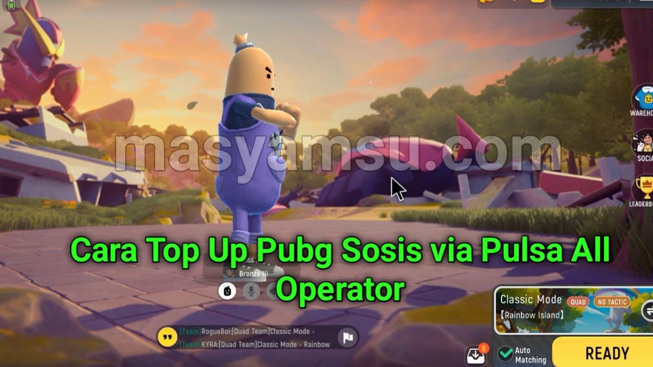 Cara Top Up Candie di Game Sausage Man  Game Sosis ala Pubg via Pulsa