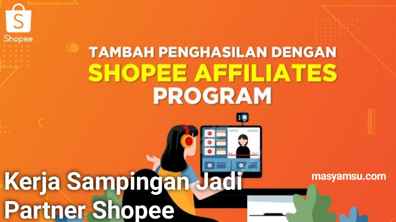 Cara Daftar di Shopee Affiliate