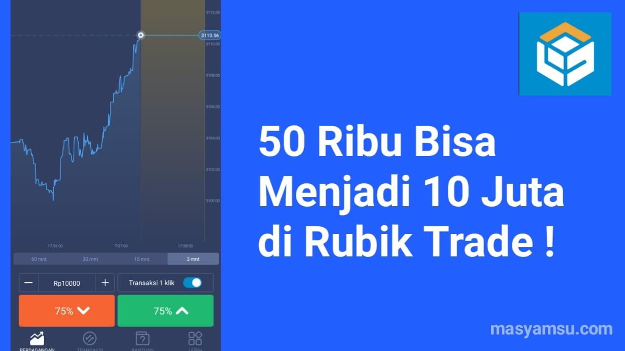 Rubik Trade Aplikasi Perdagangan Seluler